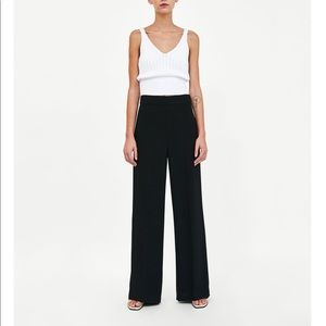 ⚡️ SALE❗️Zara Basic • Flowing Wide-Leg Trousers 🎀